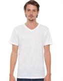 Spectrum - Basic V Neck Tee T-shirts & Singlets (white)