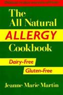 The All Natural Allergy Cookbook: Dairy-free, Gluten-free  from: AU24.49