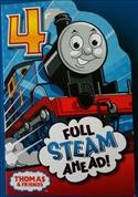 Thomas The Tank Engine Birthday Card - Age 4  from: AU$4.95