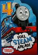 Thomas The Tank Engine Birthday Card - Age 4  from: AU$4.95