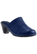 Loran Leather Loafer Mule by Comfortview   Comfortable, Casual