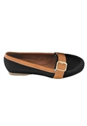 Tracey Flat Moccasin By Comfortview (black, 11 Ww)  from: USD$19.98