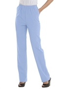 Woman Within Plus Size Comfort Waist Petite Pants By Only Necessities (cool Blue, 22 Wp)  from: USD$29.98