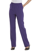 Woman Within Plus Size Comfort Waist Petite Pants By Only Necessities (deep Grape, 26 Wp)  from: USD$34.99