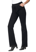 Woman Within Plus Size Petite 5 Pocket Boot Cut Ponte Knit Jean (black, 28 Wp)  from: USD$29.98
