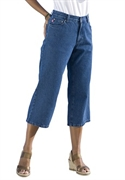 Woman Within Plus Size Petite 5-pocket Relaxed Jeans In Capri Length (medium Stonewash, 16 Wp)  from: USD$22.98
