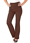Woman Within Plus Size Petite Bootcut Ponte Knit Pants (chocolate, 32 Wp)  from: USD$26.98