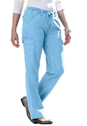 Woman Within Plus Size Petite Comfort Cargo Jeans (light Blue Denim, 32 Wp)  from: USD$34.99