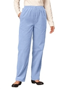 Woman Within Plus Size Petite Comfort Waist Pants In Corduroy (cool Blue, 34 Wp)  from: USD$29.98