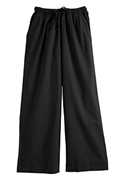 Woman Within Plus Size Petite Drawstring Cropped Palazzos (black, 18 Wp)  from: USD$24.98