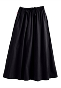 Woman Within Plus Size Petite Flare Skirt (black Twill, 30 Wp)  from: USD$22.98