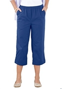 Woman Within Plus Size Petite Hassle Free Capris By Only Necessities (dark Navy, 38 Wp)  from: USD$22.98