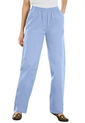 Woman Within Plus Size Petite Hassle Free Pants (cool Blue, 18 Wp)  from: USD$22.98