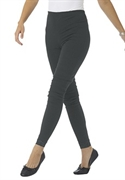 Woman Within Plus Size Petite Lace Trim Stretch Leggings (charcoal, 3x)  from: USD$24.98