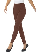 Woman Within Plus Size Petite Lace Trim Stretch Leggings (chocolate, 4x)  from: USD$24.98