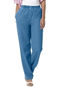 Woman Within Plus Size Petite Mock Fly Jean (light Denim, 38 Wp)  from: USD$29.98