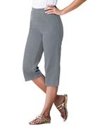 Woman Within Plus Size Petite Pedal Pusher Capri Pants (denim Acid Wash, 28 Wp)  from: USD$29.98