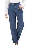Woman Within Plus Size Petite Relaxed 5 Pocket Jeans (medium Stone Wash, 16 Wp)  from: USD$24.98
