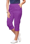 Woman Within Plus Size Petite Relaxed-fit Capris (fresh Violet, 22 Wp)  from: USD$24.98