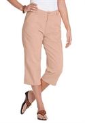 Woman Within Plus Size Petite Soft Khaki Capri (light Khaki, 30 Wp)  from: USD$22.98