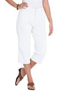 Woman Within Plus Size Petite Soft Khaki Capri (white, 26 Wp)  from: USD$22.98