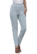 Woman Within Plus Size Petite Stretch Denim Leggings (bleach Blue, 20 Wp)  from: USD$29.98