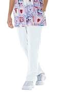 Woman Within Plus Size Petite Uniform Scrub Pants By Only Necessities (white, 4x)  from: USD$26.98