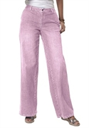 Woman Within Plus Size Petite Wide Leg Stretch Jeans (pink Mist, 18 Wp)  from: USD$34.99