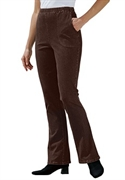 Woman Within Plus Size Relaxed Petite Pull-on Boot Cut Legging Jeans (chocolate, 12 Wp)  from: USD$29.98