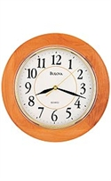 Bulova Madeline Home And Office White Dial Wall Clock #c4461  from: USD$49.95