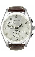 Hamilton Jazzmaster Thinline Chrono 42mm Silver Dial Men`s Watch #h38612553  from: USD$745.00