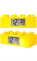 Lego Clocks Yellow Brick Digital Grey Dial Alarm Clock #9002144  from: USD$29.99