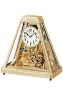 Seiko Carousel White Dial Mantel Clock #qxw213grh  from: USD$195.00