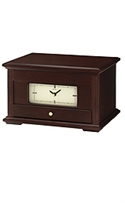 Seiko Clocks Desk & Table Jewelry Case Cream Dial Clock #qxg141blh  from: USD$185.00