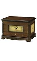 Seiko Clocks Desk & Table Jewelry Case Cream Dial Clock #qxg142blh  from: USD$185.00
