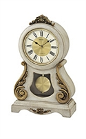 Seiko Clocks Mantel Musical Cream Dial Clock #qxw220blh  from: USD$260.00