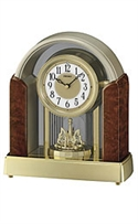Seiko Clocks Melodies In Motion Mantel White Dial Clock #qxw221brh  from: USD$175.00