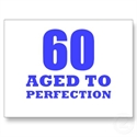 60th Birthday Post Card  from: USD$1.70