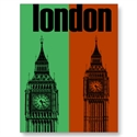 Big Ben In London, Ver. 1 Post Card  from: USD$1.70
