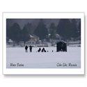 Wisconsin Winter Pastime Post Card  from: USD$1.70