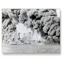 Wwii Battleships Uss Tennessee, West Virginia Post Card  from: USD$1.70