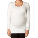 Soon Maternity Long Sleeve Scoop Neck Top